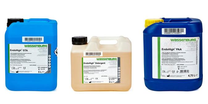 Wassenburg Medical Endohigh process liquids