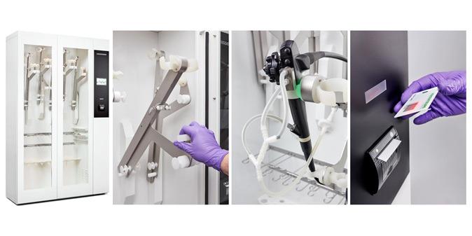 Wassenburg Medical Dry320 endoscope drying cabinet